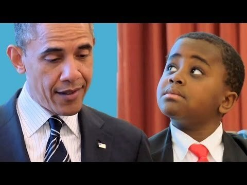 See 'Kid President' Meet the Real Commander-in-Chief