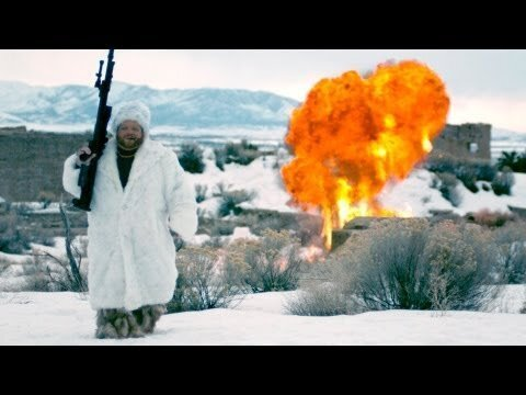 Russian Maniac Blows Up Snowmen, Because Those Guys Had It Coming