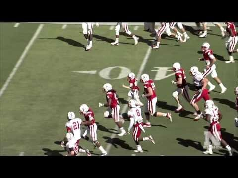 Cancer-Stricken Boy Jack Hoffman Scores Touchdown During Nebraska Spring Game