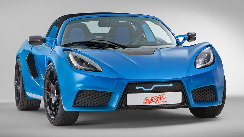 Detroit Electric SP:01 Car Looks Like An Awesome Design