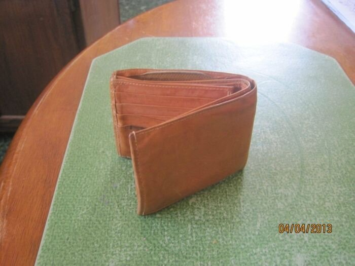 The Twenty Five Cent Thrift Store Wallet