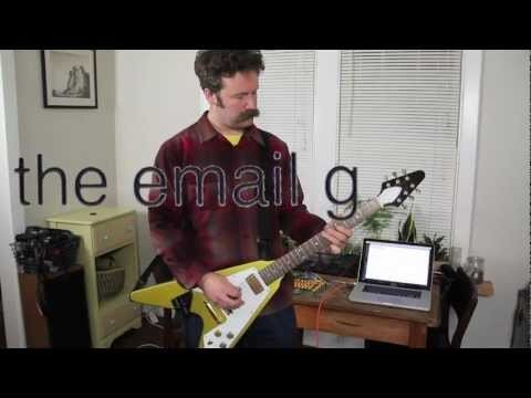 David Neevel Invents Guitar That Sends Email Because He Can
