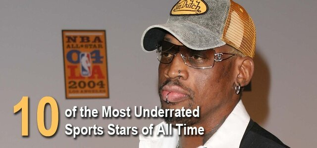 10 Of The Most Underrated Athletes Of All Time