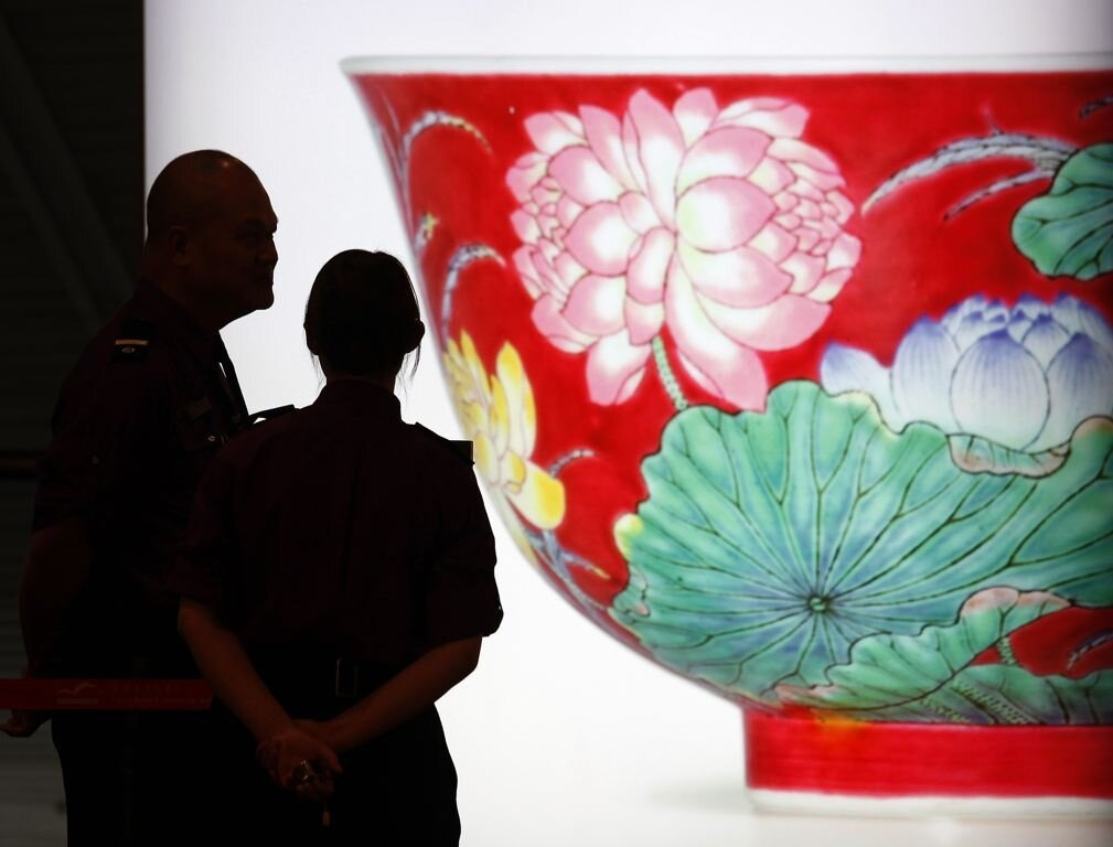 Chinese Ceramic Bowl Sells For Record-Breaking Amount