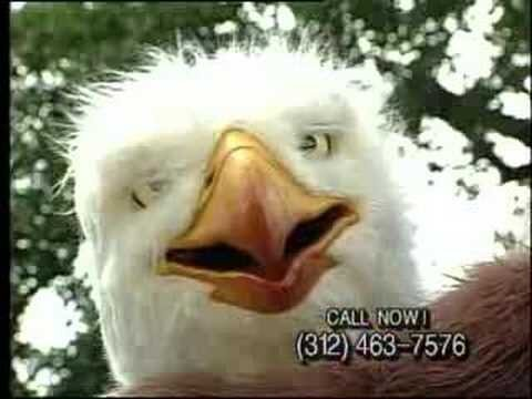 The Insane '90s Era 'Eagleman' Commerical Will Delight and Disturb You
