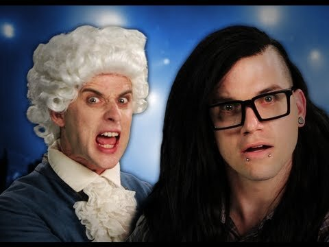 Mozart Takes on Skrillex in Latest 'Epic Rap Battle'