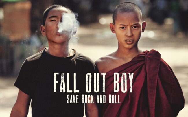 Fall Out Boy's 'Save Rock And Roll' Is 2013's Best Dumb Song...