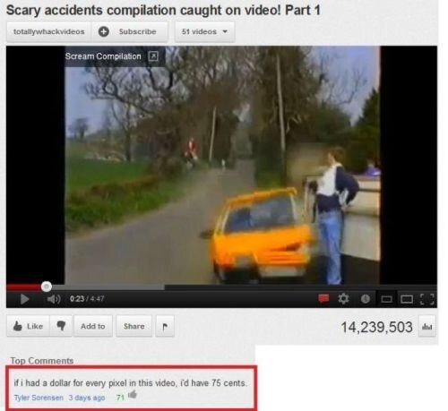 The Funniest Youtube Comments.
