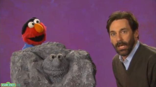 Mad Men's Jon Hamm On Sesame Street Is Everything, Naturally