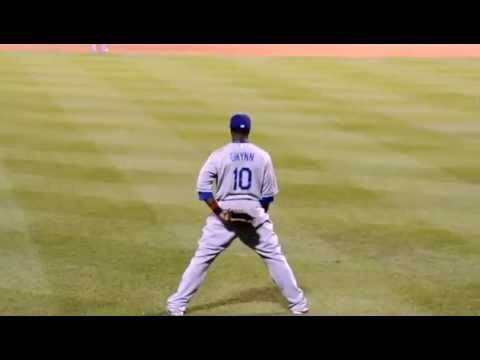 LA Dodgers Tony Gwynn Jr EPIC Reaction To A Rockies Heckler