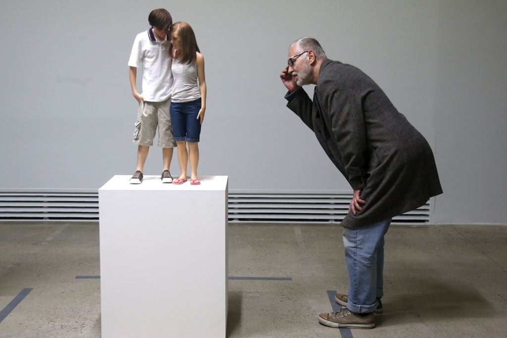 Life-Like Sculptures By Australian Artist Ron Mueck Boggle The Eye