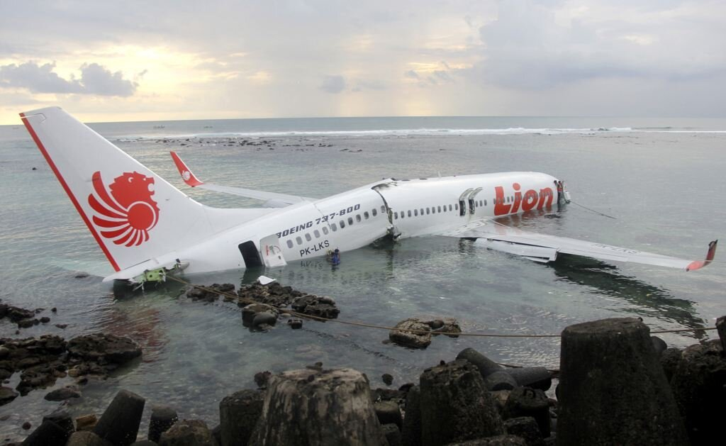 Photos From The Plane Crash In Bali On April 13th