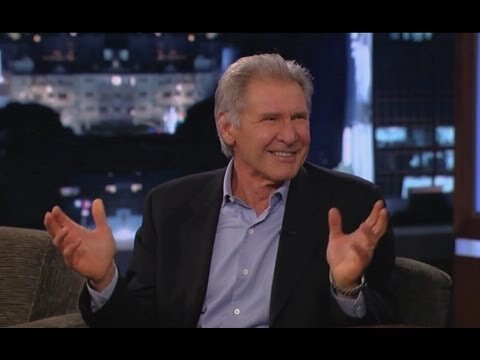 Harrison Ford Has a Spat With Chewbacca on 'Jimmy Kimmel Live!'