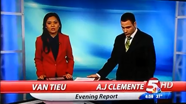 Bismarck News Anchor AJ Clemente Says Swear Words On Air