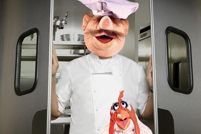 Swedish Chef Mashed Up With Gordon Ramsay