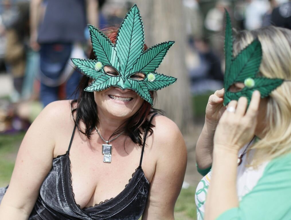 Photos From Denver's Annual 4/20 Cannabis Celebration
