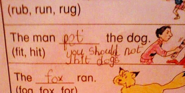 Kids Are Awesome And These Test Answers Prove Why