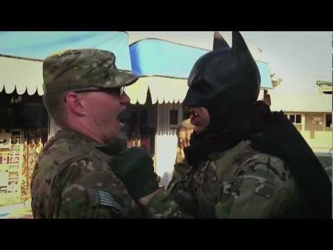 Batman Is Now Training Soldiers in Afghanistan