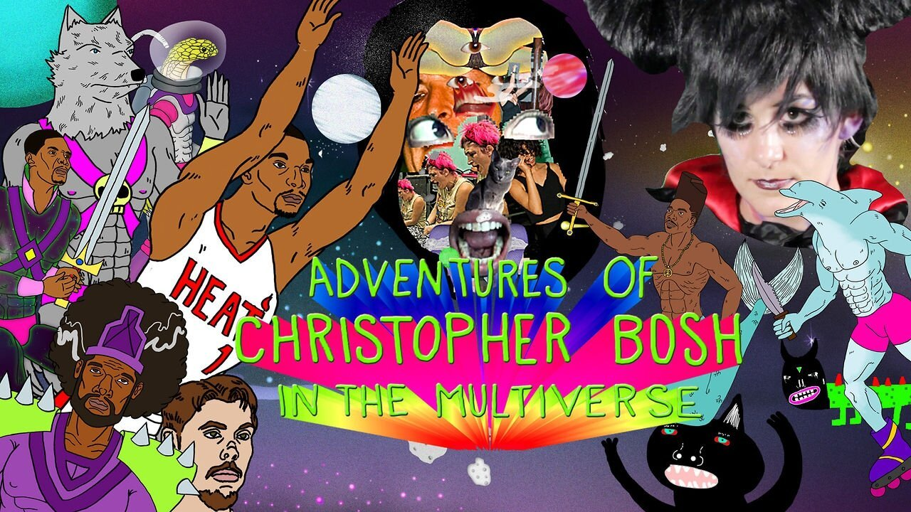 Watch the 'Adventures of Christopher Bosh in the Multiverse!'