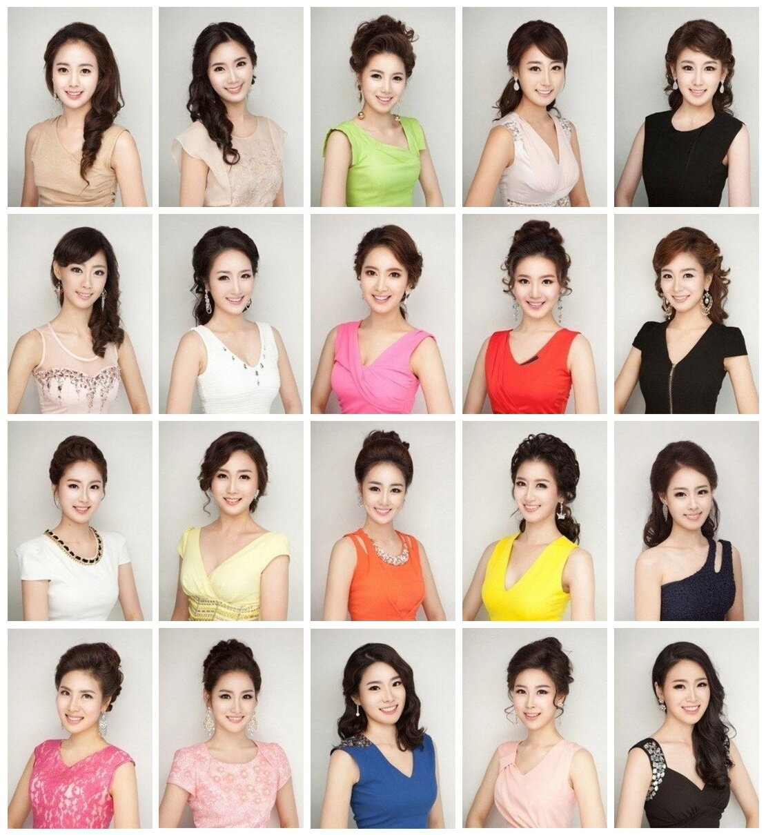 Koreas Plastic Surgery Obsession Revealed At Miss Korea 2013.