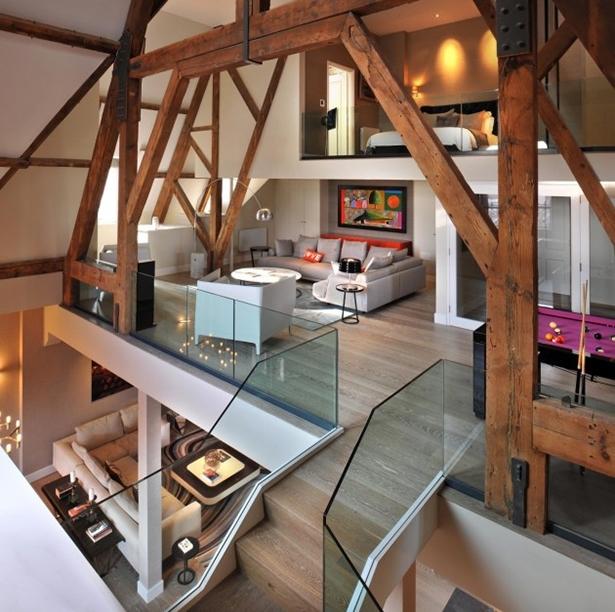 Gorgeous St. Pancras Penthouse Apartment By Thomas Griem