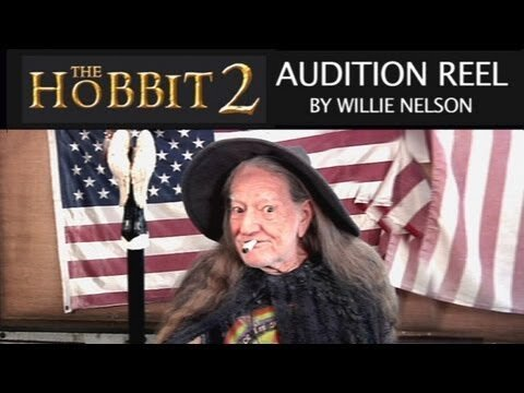 Willie Nelson's Audition for 'The Hobbit 2′ Will Give You Chills