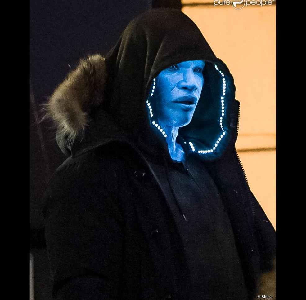 Awesome Photos of Jamie Foxx in The Amazing Spider-Man 2