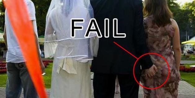 Hilarious Wedding Photos: Terrible Ways To Start Off A Marriage