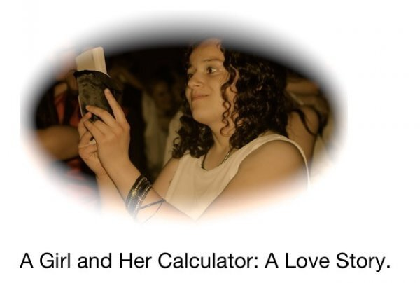 Funny Love Story: Girl Takes Calculator to Prom