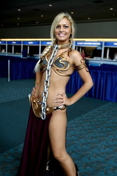 Sexy And Fun Star Wars Cosplay, May The 4th Be With You