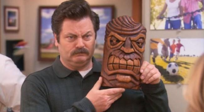 Ron Swanson's 15 Best Season 5 GIFs