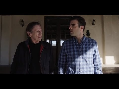 'Star Trek' Actors Leonard Nimoy & Zachary Quinto Have a Spock-Off