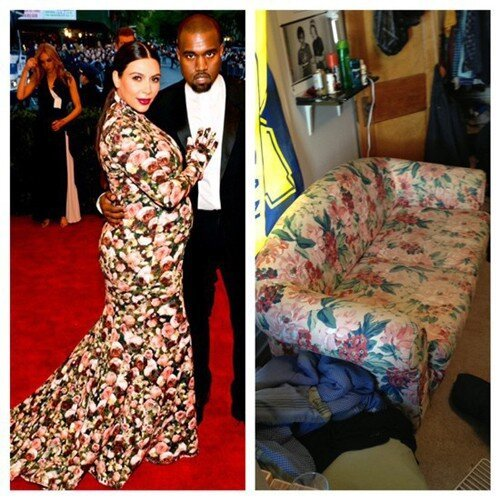 The Internet Blew Up Over Kim Kardashian's Met Gala Dress