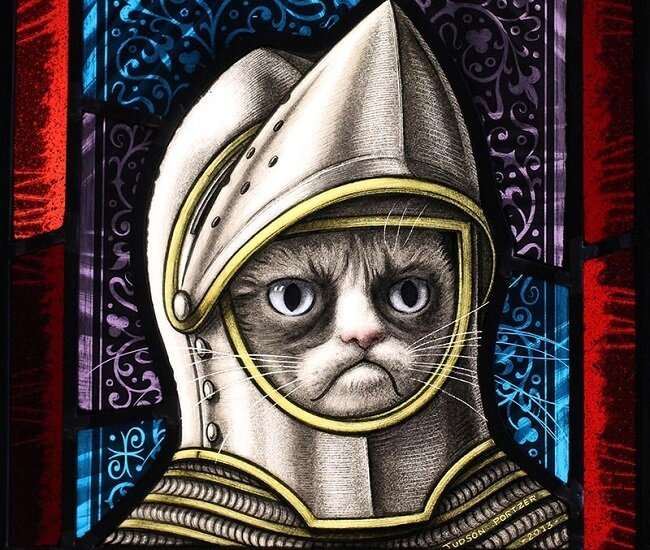 Grumpy Cat Had An Art Show Once. It Wasn't Awful.
