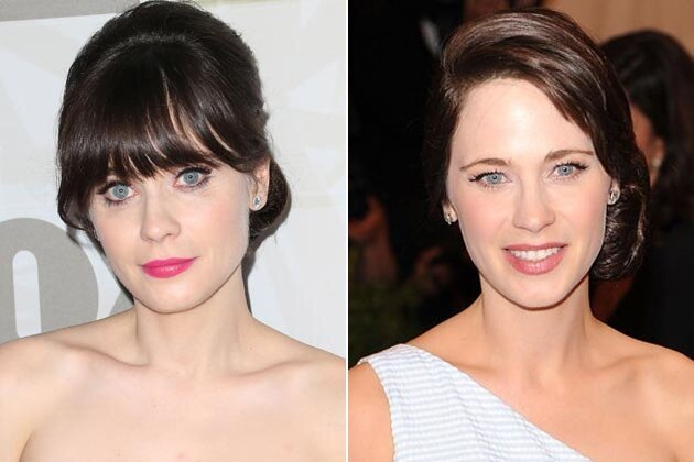 You Won't Even Recognize Zooey Deschanel Without Bangs