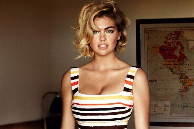 Vogue Cover Girl Kate Upton Is Fat, Says Idiots