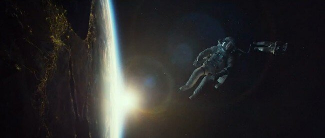 Trailer for Gravity, Cuaron movie starring Clooney and Bullock