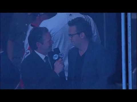 Reporter Congratulates Matthew Perry on His Show Getting Canceled