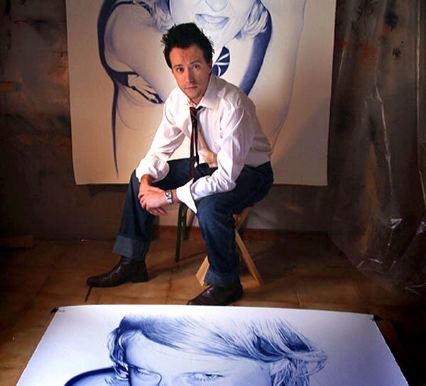 Astounding Photorealistic Portraits Drawn In Ballpoint Pen