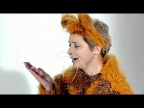 Isabella Rossellini Dresses Like a Hamster and Eats Her Babies.