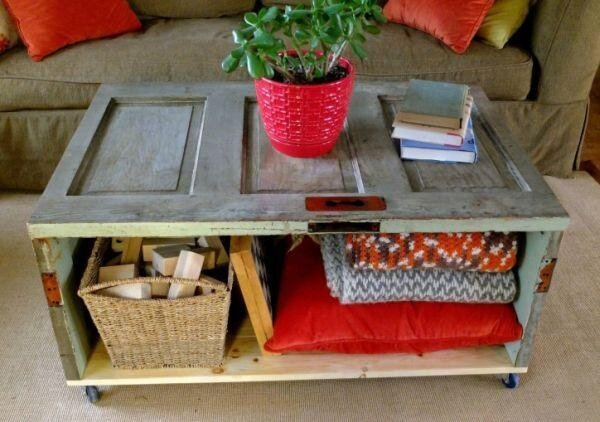 12 Creative Ways To Reuse Doors And Make Your House Unique.