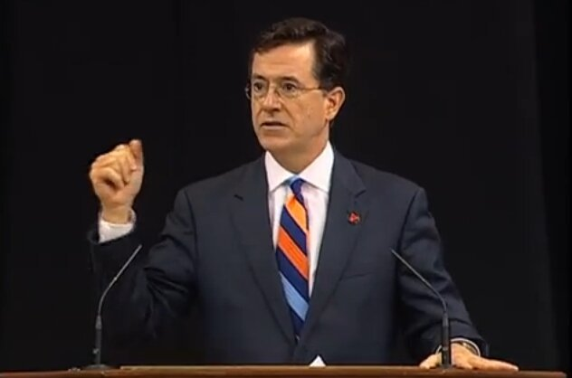 Stephen Colbert Gave Inspiring UVA Graduation Speech