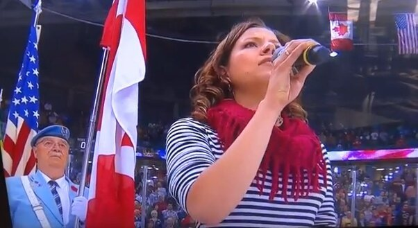 Canadian Singer Hilariously Botches 'The National Anthem'