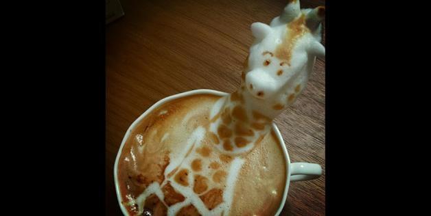 Kazuki Yamamoto Incredible 3D Latte Art