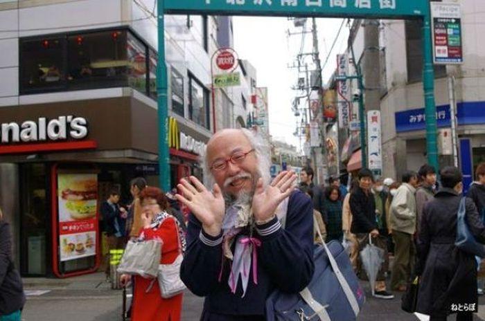 """""""Sailor Suit Old Man"""" Hideaki Kobayashi"""