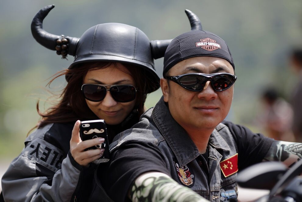 Harley Davidson National Rally in China