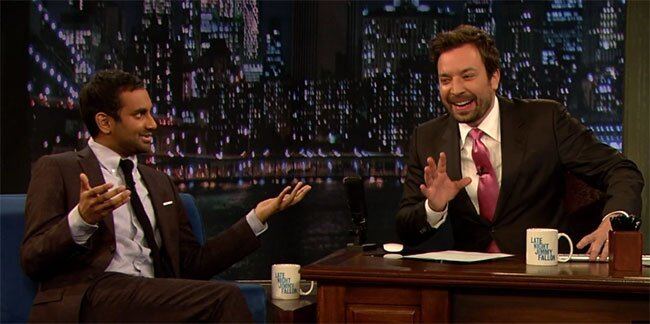 Aziz Ansari On Fallon: Aziz Is So Hilariously Done With Late Nights