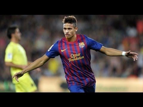 Neymar ► first goals with Barcelona 2013