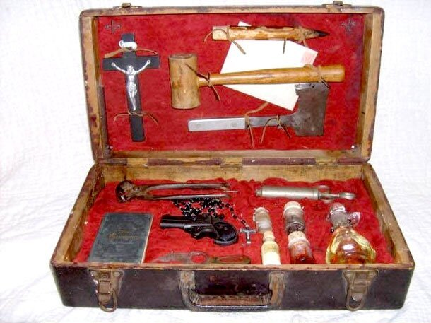 Fact Or Fiction? A Vampire Hunting Kit From 1890