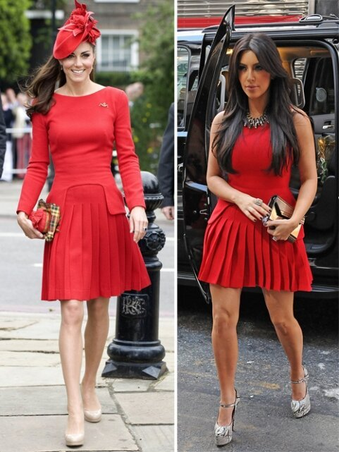 Kate Middleton Vs Kim Kardashian- Who is Hotter? More Popular?
